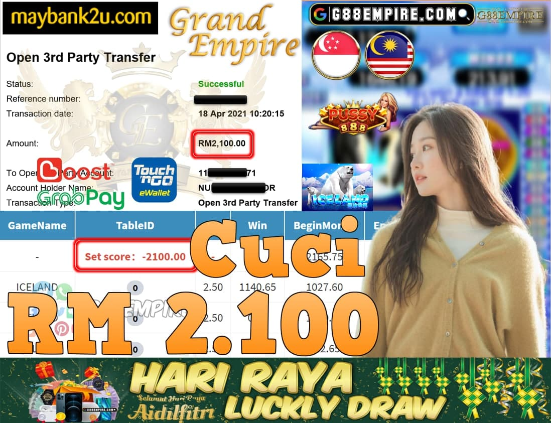 PUSSY888-ICELAND CUCI RM2,100!!!