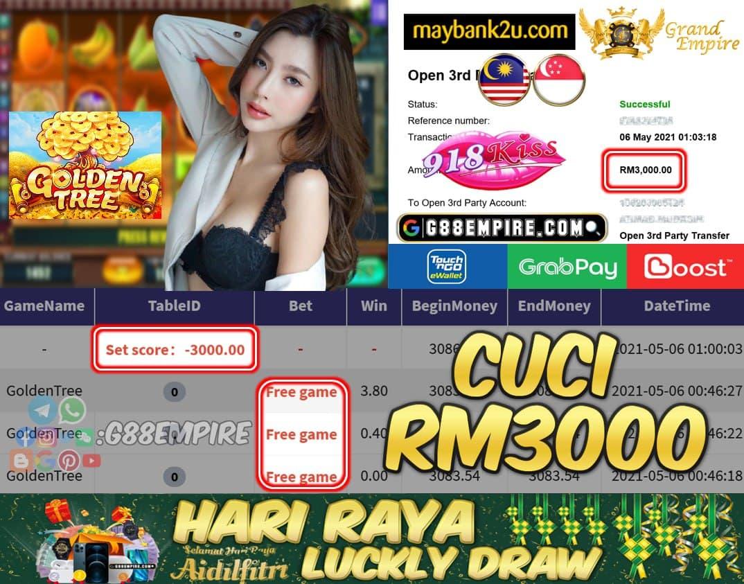 KISSORI - GOLDENTREE CUCI RM3000!!!