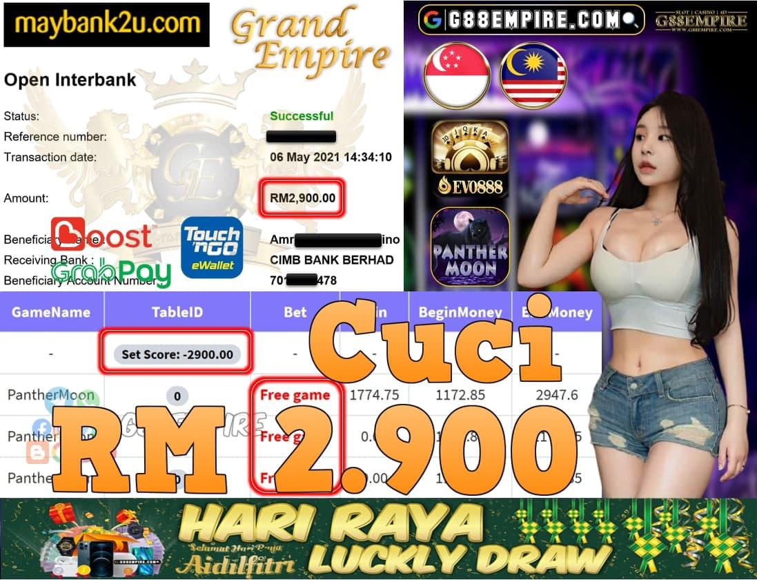 EVO888-PANTHERMOON CUCI RM2,900!!!