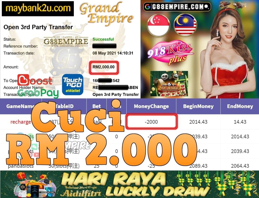 918KISSPLUS-PANDASLOTS CUCI RM2,000!!!