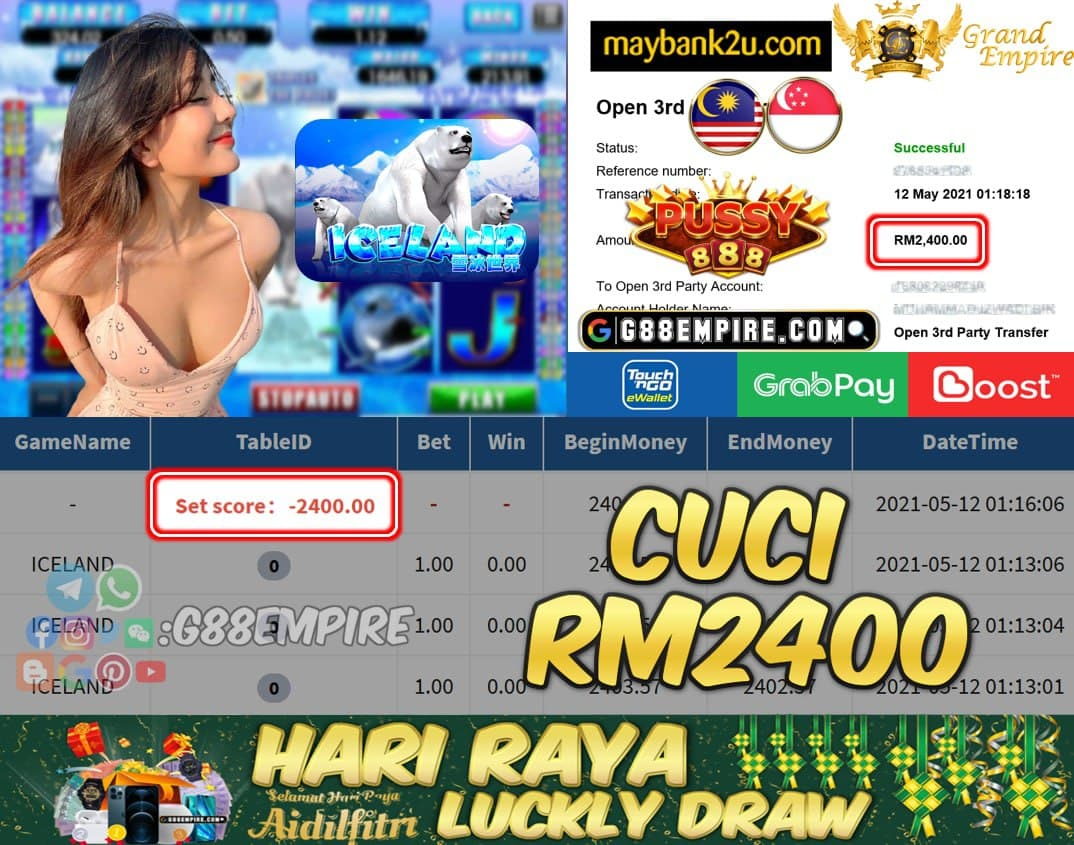 PUSSY888 - ICELAND CUCI RM2400 !!!