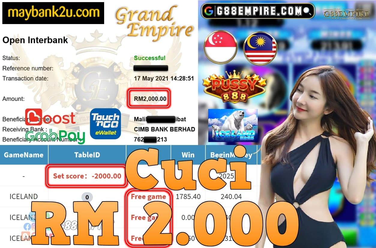 PUSSY888-ICELAND CUCI RM2,.000!!!