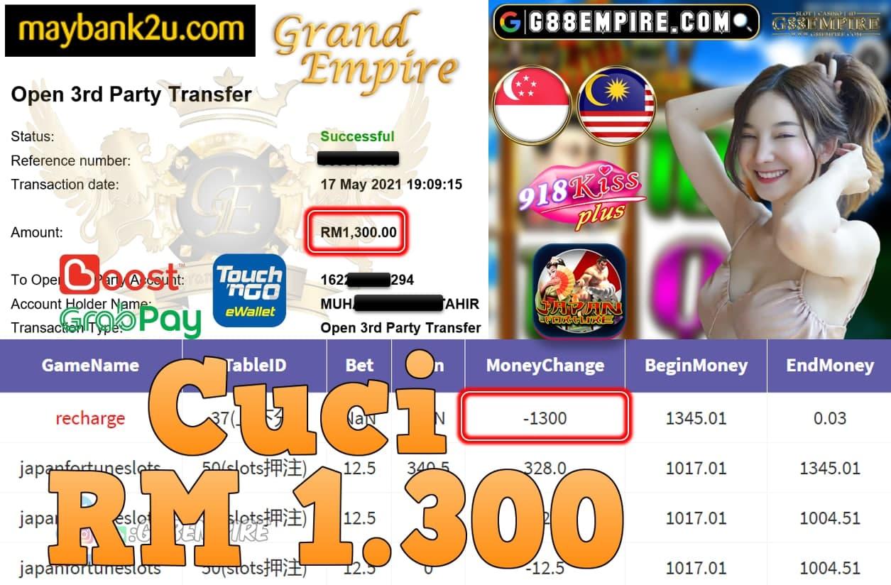 918KISSPLUS-JAPANFORTUNE CUCI RM1,300!!!