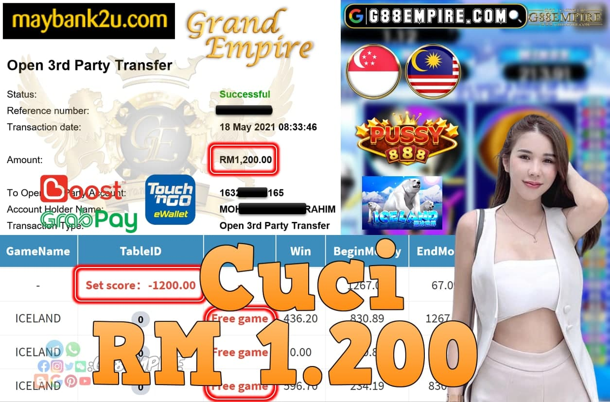 PUSSY888-ICELAND CUCI RM1,200!!!