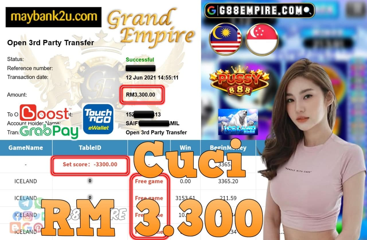 PUSSY888 - ICELAND CUCI RM3,300!!!