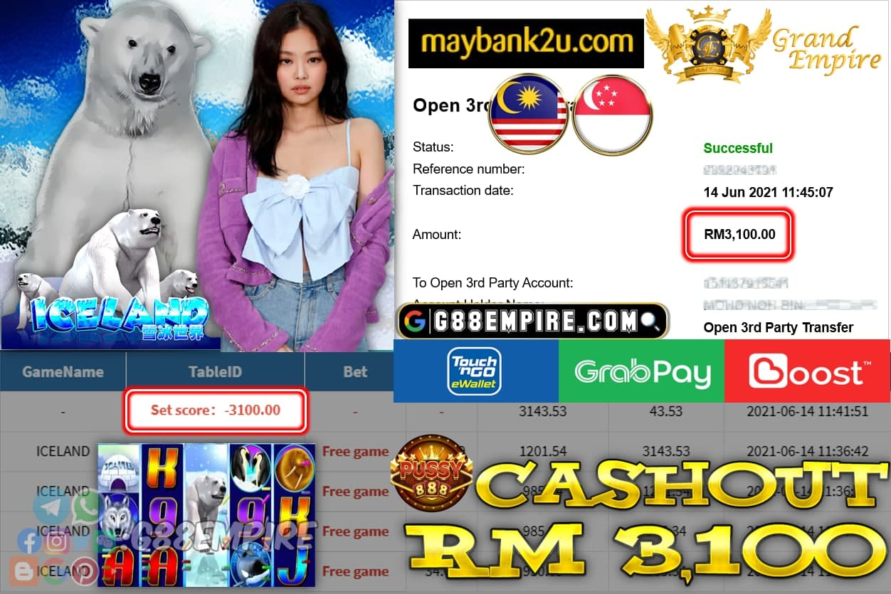 PUSSY888 - ICELAND CUCI RM3100 !!!
