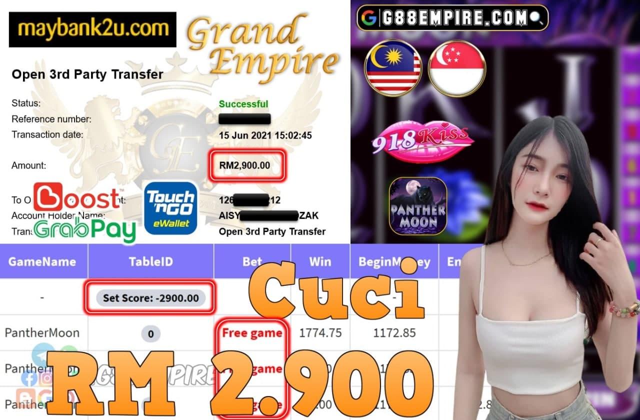 918KISS ORI - PANTHERMOON CUCI RM2,900!!