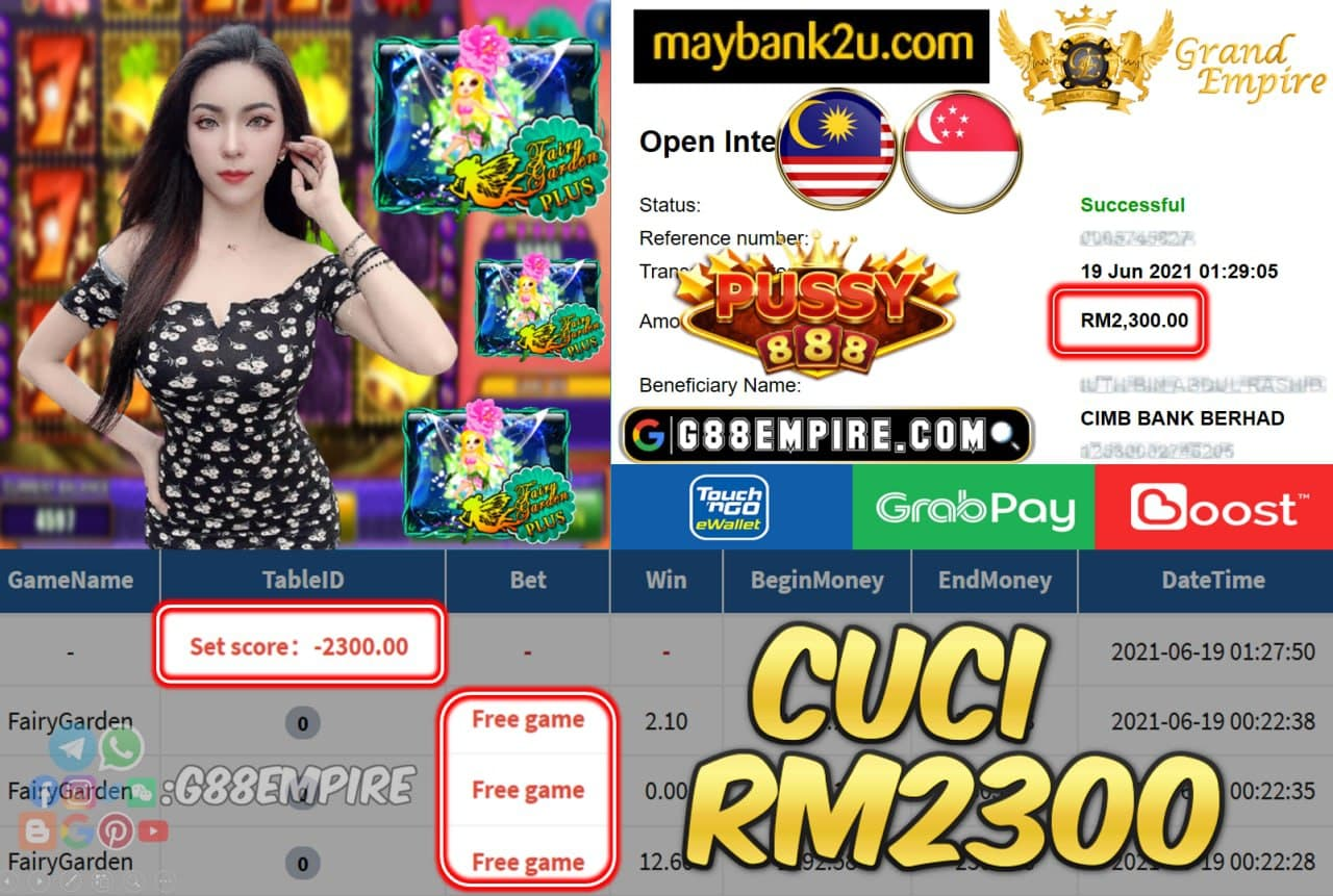 PUSSY888 - FAIRYGARDEN CUCI RM2300 !!!