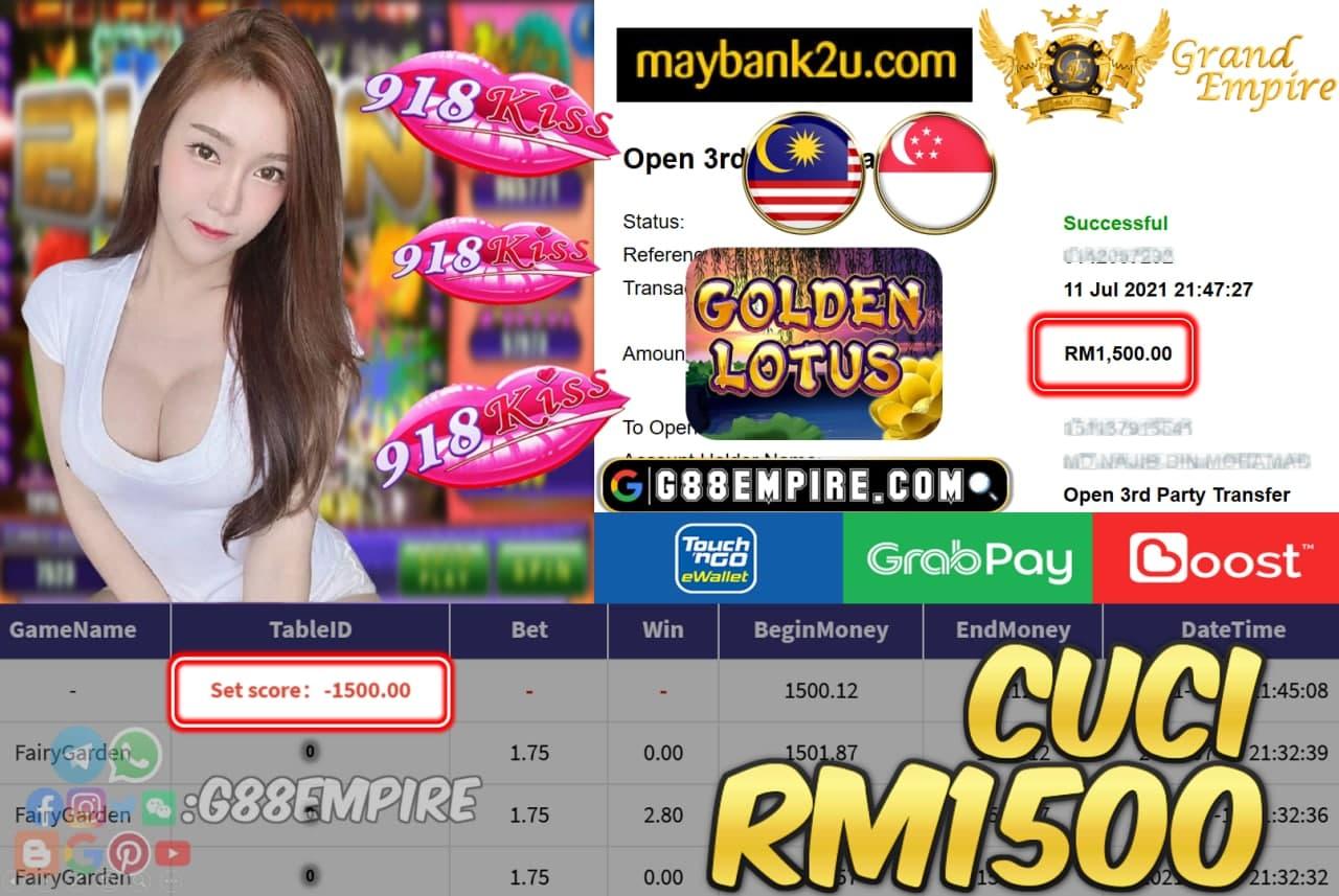 918KISSORI - FAIRYGARDEN CUCI RM1500 !!!
