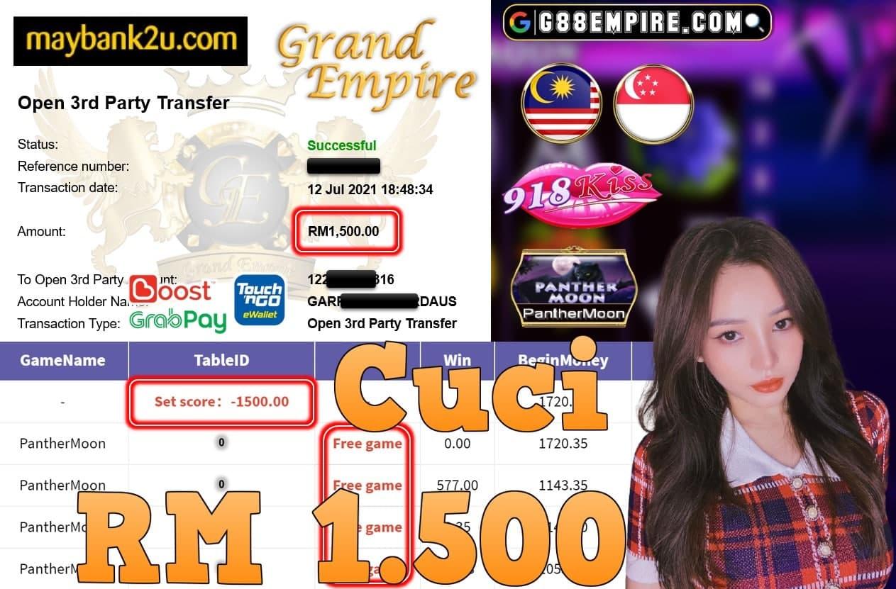 918KISS ORI - PANTHERMOON  CUCI RM1,500!!!