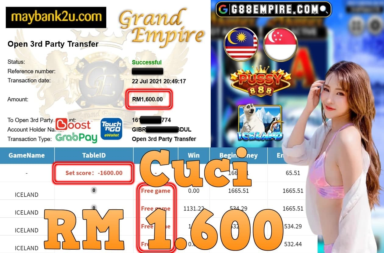 PUSSY888 - ICELAND CUCI RM1,600!!!