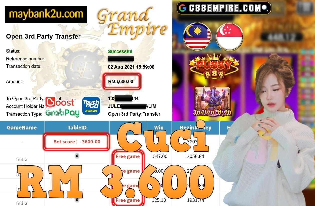 PUSSY888 - INDIA CUCI RM3,600!!!