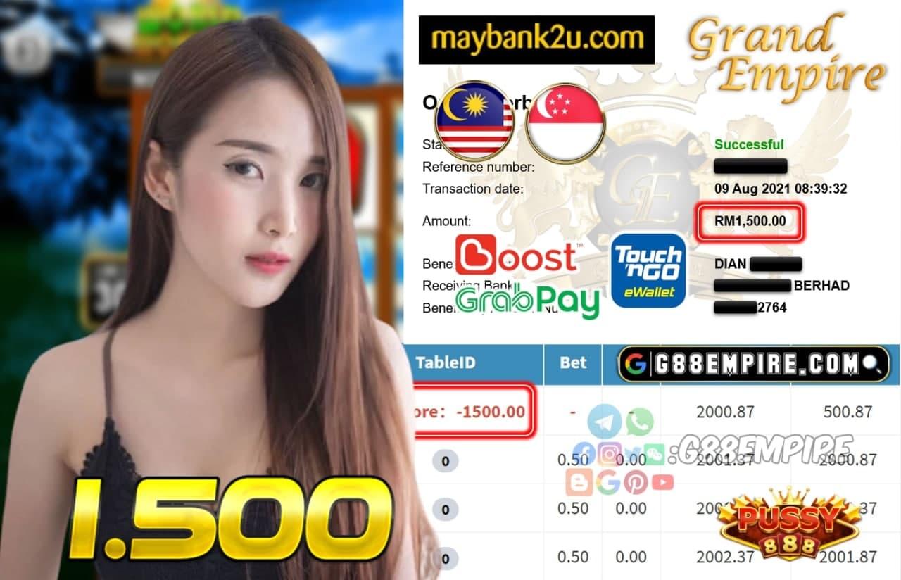 PUSSY888 - JAPAN CUCI RM 1.500!!!