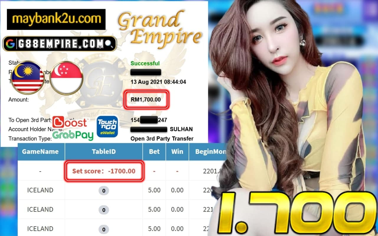 PUSSY888 - ICELAND CUCI RM 1.700!!!