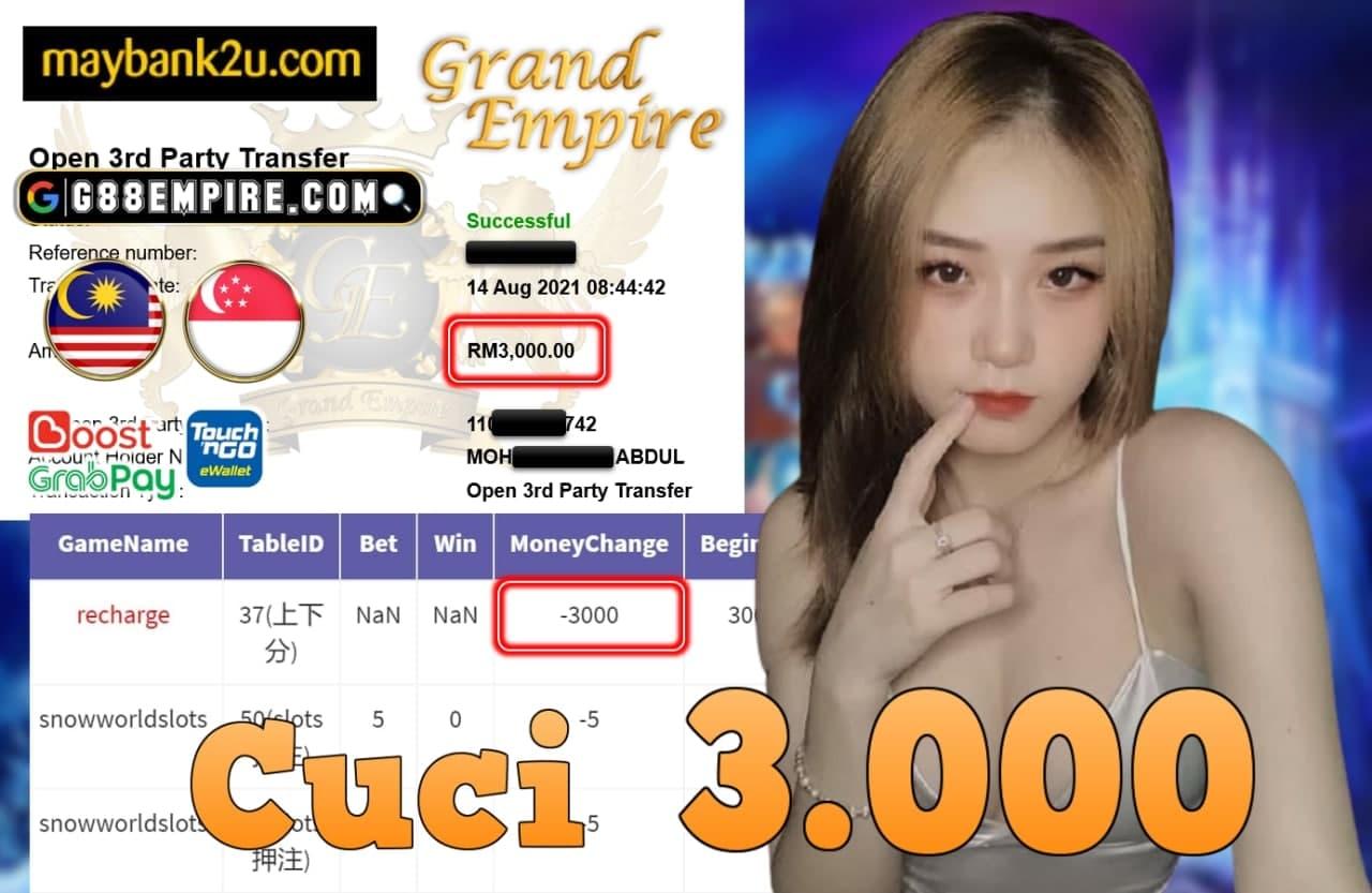 KISS+ - SNOWWORLDSLOTS CUCI RM 3.000!!!
