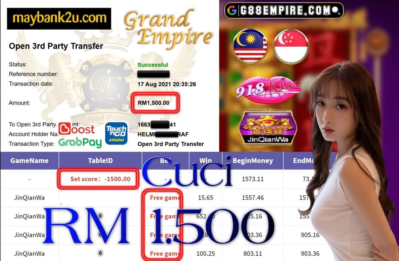 918KISS ORI - JINQIANWA CUCI RM1,500!!!