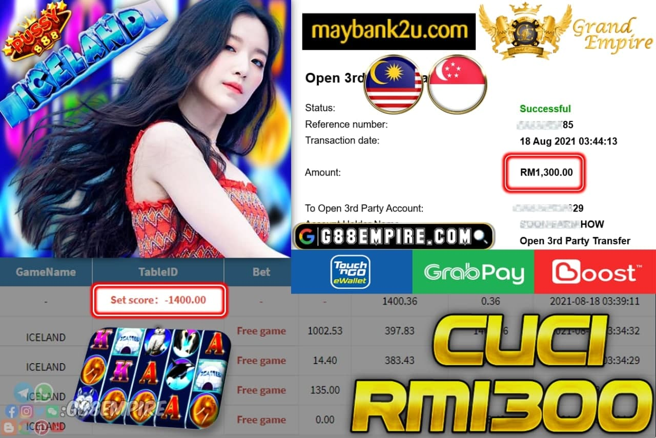 PUSSY888 - ICELAND CUCI RM1,300!!!