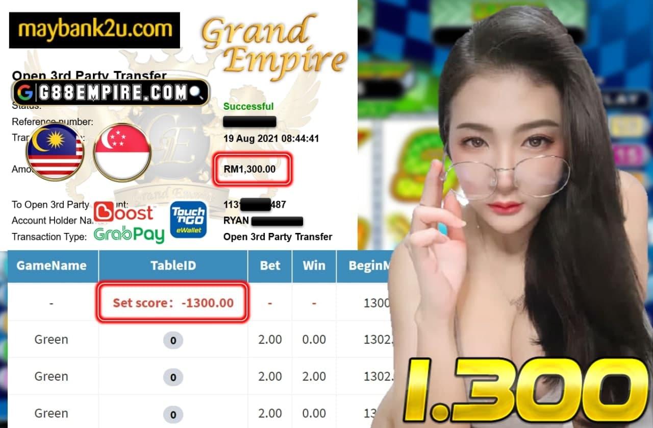 EVO888 - GREEN CUCI RM 1.300!!!