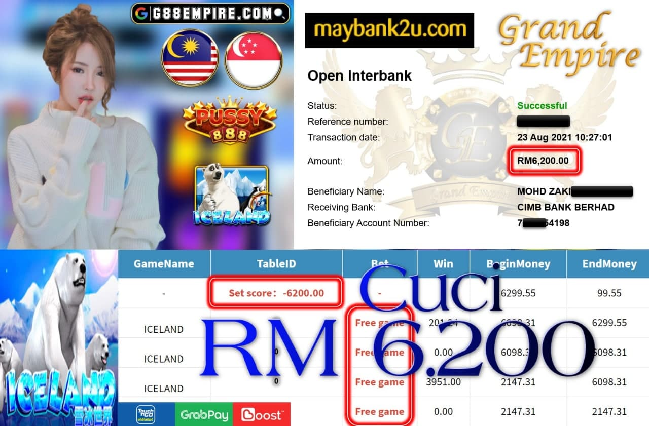 PUSSY888 - ICELAND CUCI RM6,200!!!