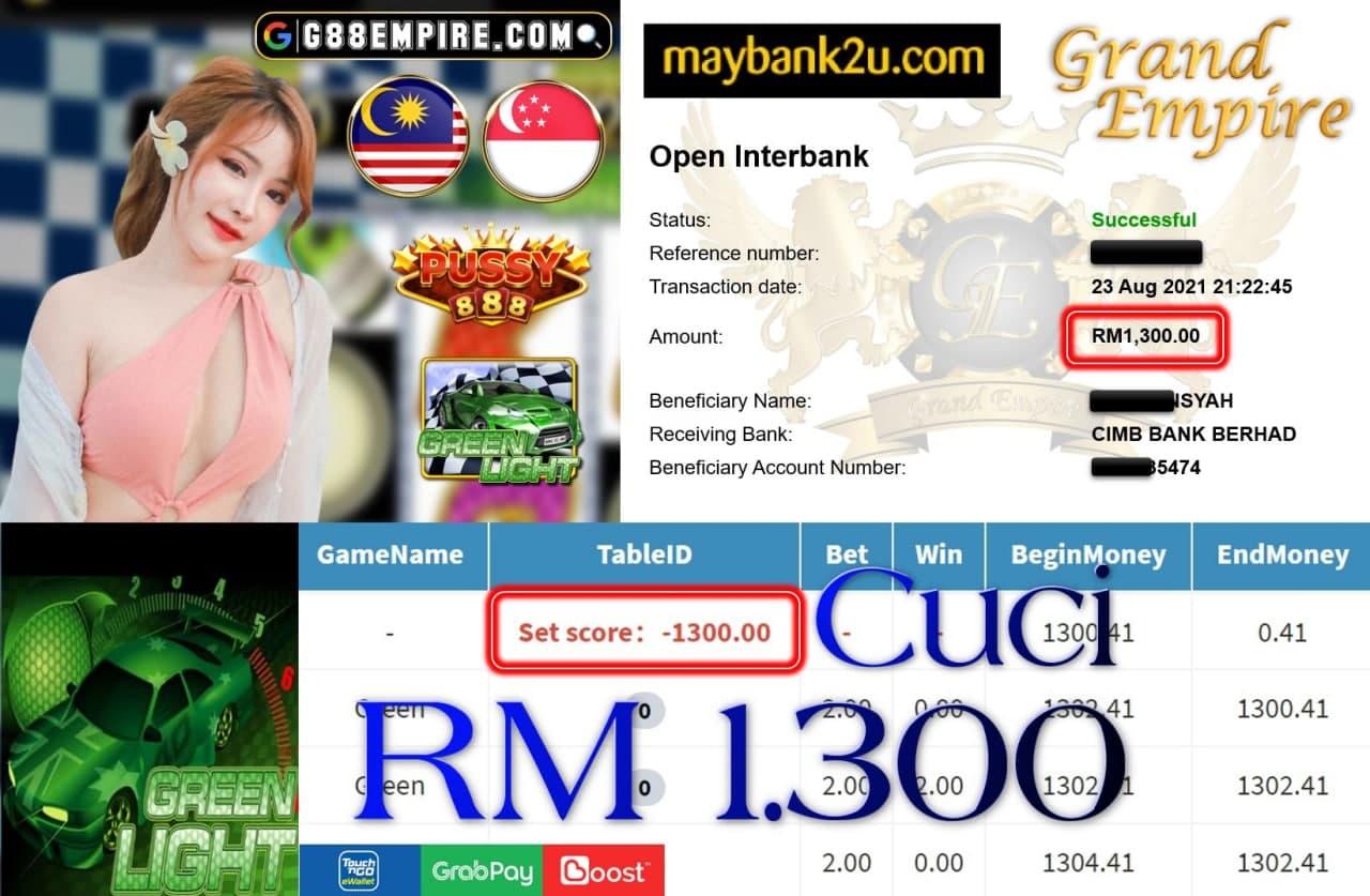 PUSSY888 - GREENLIGHT CUCI RM1,300!!!