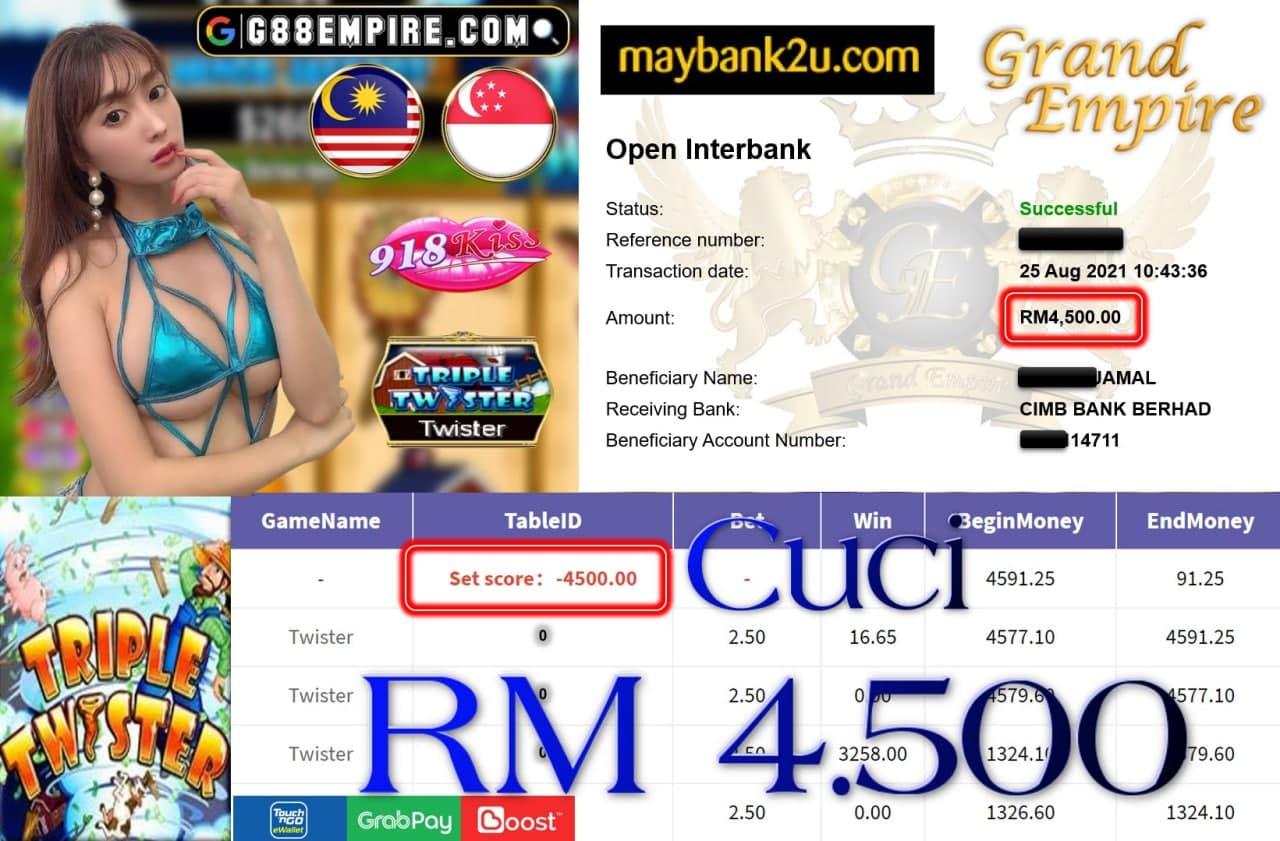 918KISS ORI  - TWISTER CUCI RM4,500!!!