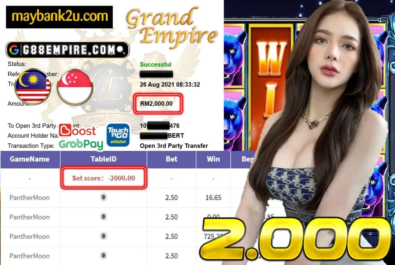918KISS - PANTHERMOON CUCI RM2,000!!!