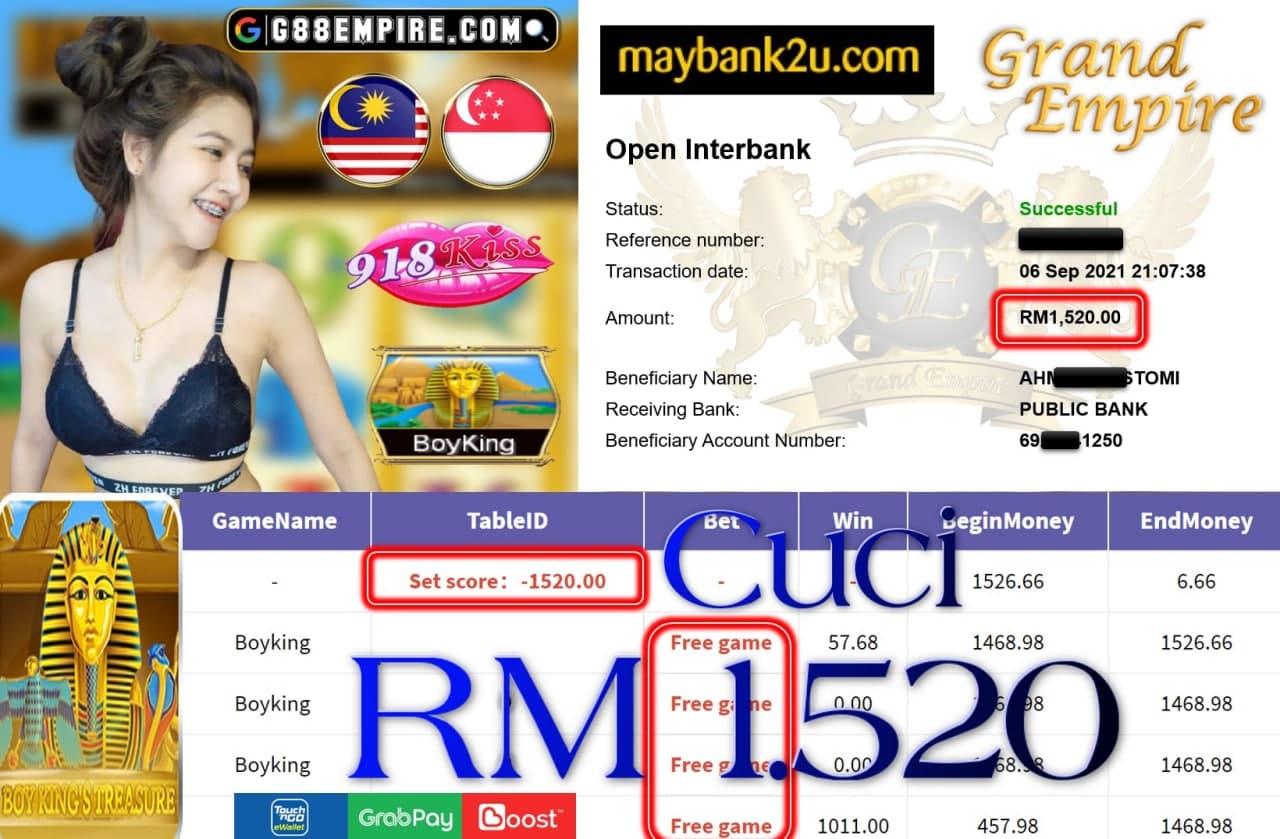 918KISS ORI - BOYKING CUCI RM1,520!!!