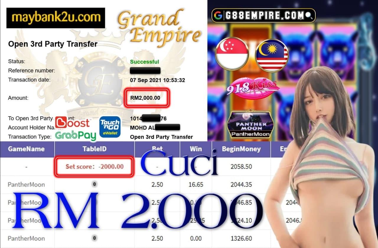918KISS ORI - PANTHERMOON CUCI RM2,000!!!