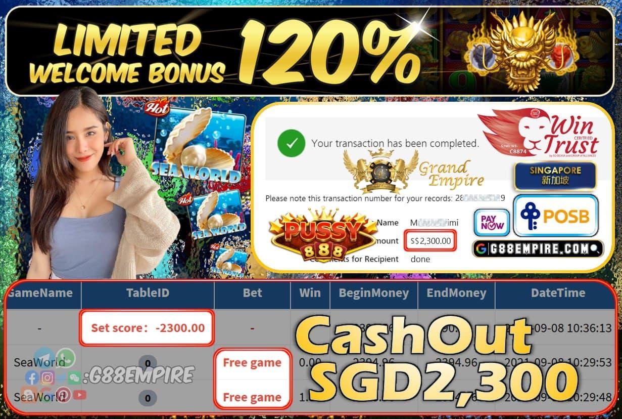PUSSY888 - GODOFWEALTH CUCI RM3,200!!!