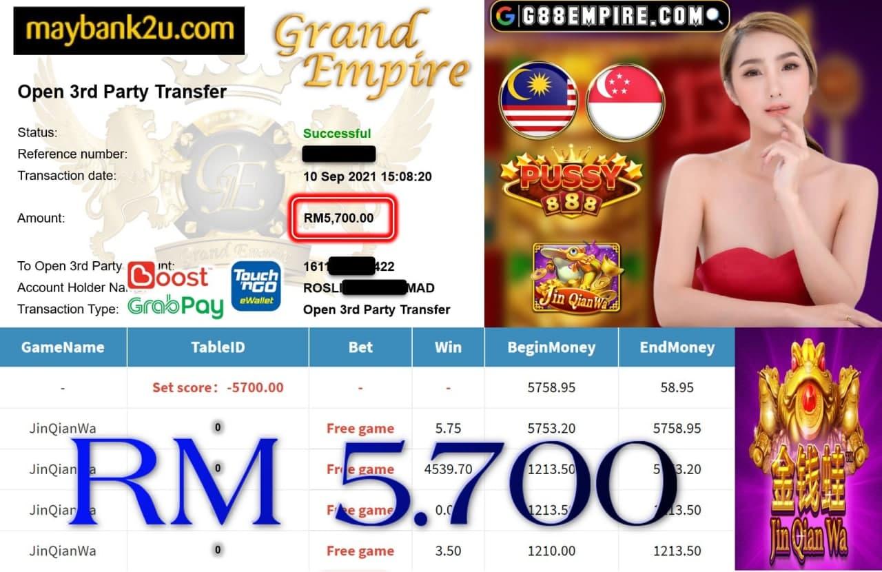 PUSSY888 - JINQIANWA CUCI RM5.700!!!