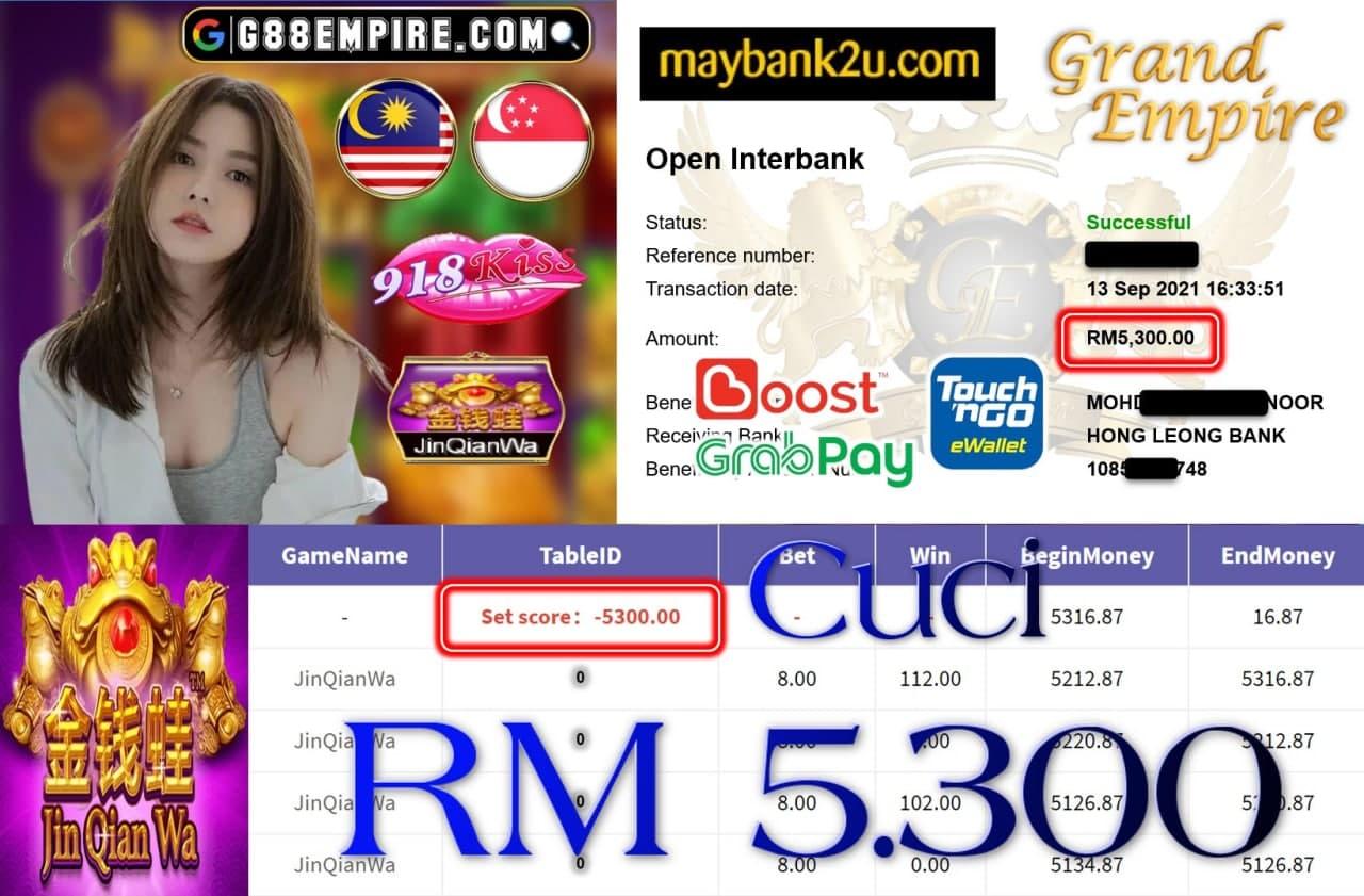 918KISS ORI - JINQIANWA  CUCI RM5,300!!!