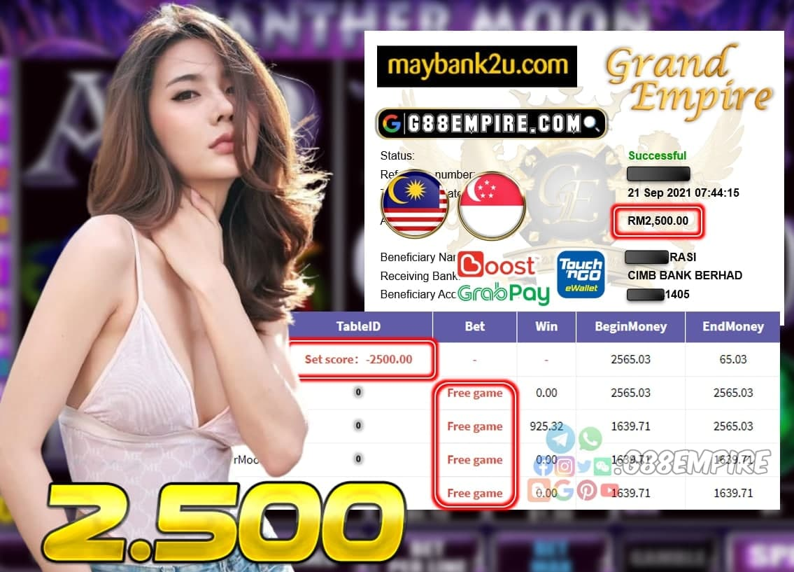 KISS918 - PANTHERMOON CUCI RM 2.500!!!