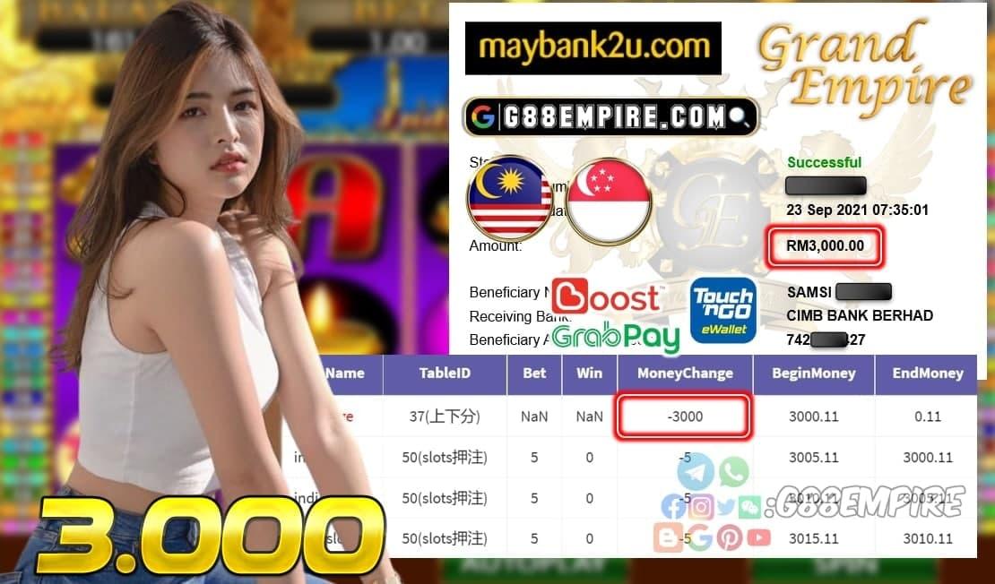 KISS+ - INDIASLOTS CUCI RM 3.000!!!