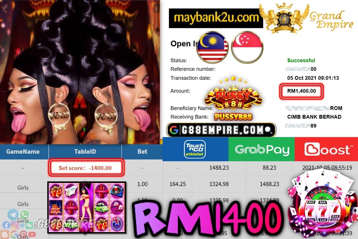 PUSSY888 - GIRLS CUCI RM1,400!!!
