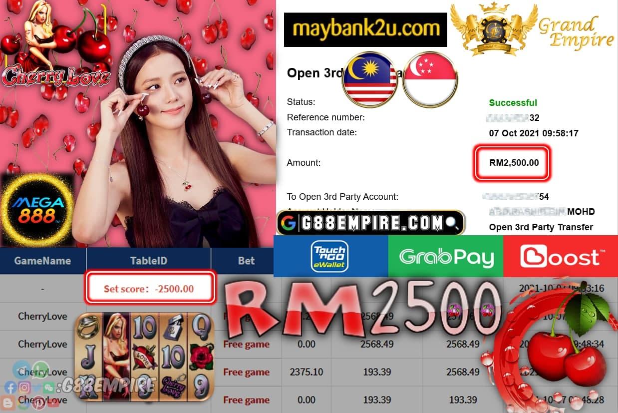 MEGA888 - CHERRYLOVE CUCVI RM2,500!!!!