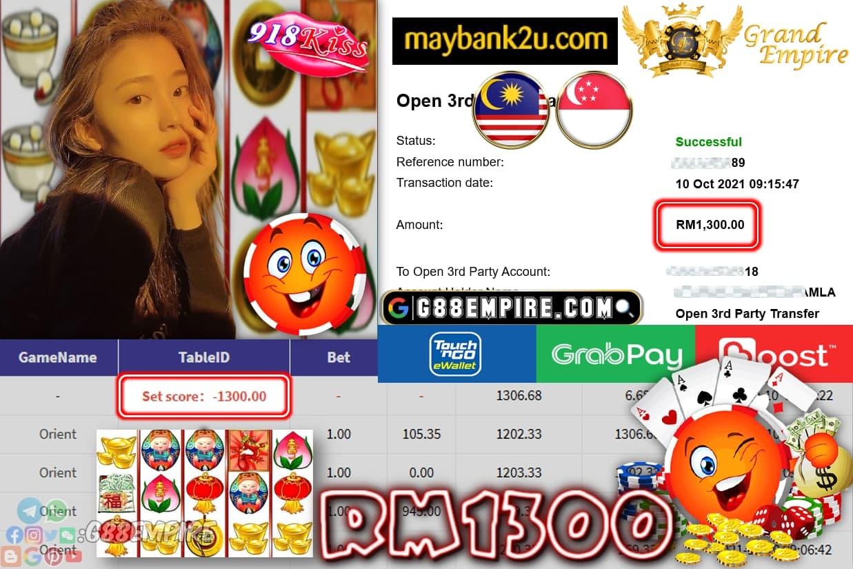918KISS - ORIENT CUCI RM1,300!!!