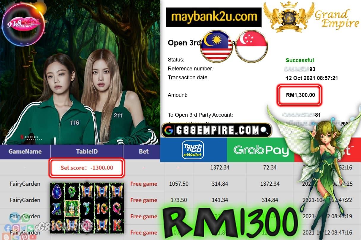 918KISS - FAIRYGARDEN CUCI RM1,300!!!